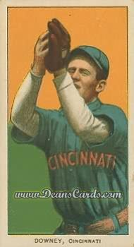 # 145 Tom Downey Fielding - T206 REPRINT