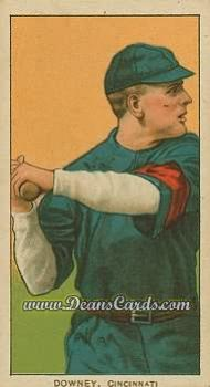 # 144 Tom Downey Batting - T206 REPRINT