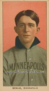 1909 T206 #0   Jerry Downs - Portrait
