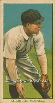 # 160 Kid Elberfeld Fielding - T206 REPRINT