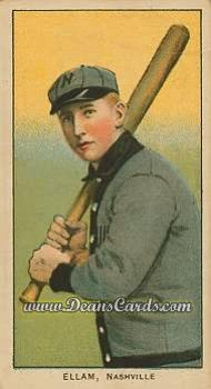 1909 T206 Reprints #163   Roy Ellam