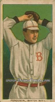 1909 T206 Reprints #170   Cecil Ferguson