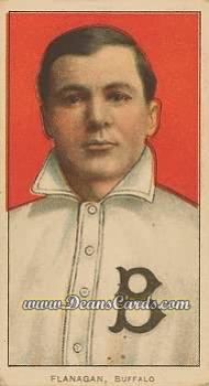 1909 T206 #0   Steamer Flanagan - Portrait