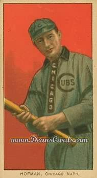 1909 T206 Reprints #218   Solly Hofman
