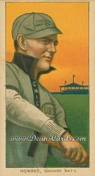 1909 T206 Reprints #220 CHI  Del Howard