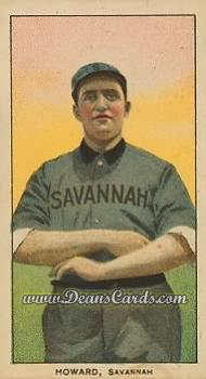 1909 T206 Reprints #221   Ernie Howard