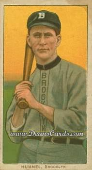 1909 T206 Reprints #227   John Hummel