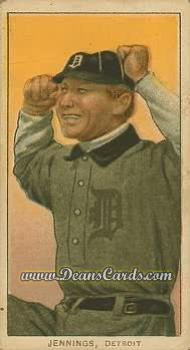# 232 Hughie Jennings Both Hands Showing - T206 REPRINT