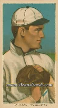 # 235 Walter Johnson Hands at Chest - T206 REPRINT