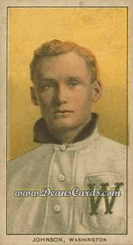# 236 Walter Johnson Portrait - T206 REPRINT