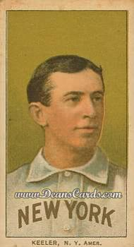 # 247 Willie Keeler Portrait - T206 REPRINT