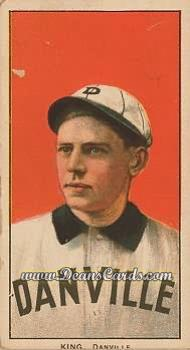 1909 T206 Reprints #253   Frank King