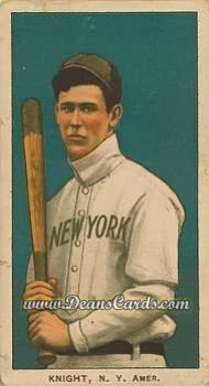 1909 T206 Reprints #261   Jack Knight