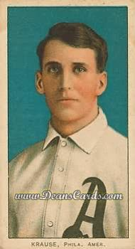 1909 T206 #0   Harry Krause - Portrait