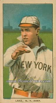 # 272 Joe Lake New York - T206 REPRINT
