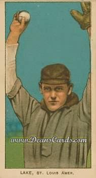 # 274 Joe Lake St. Louis with Ball - T206 REPRINT