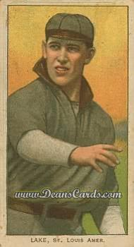 # 273 Joe Lake St. Louis No Ball - T206 REPRINT