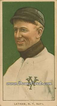 1909 T206 Reprints #276   Arlie Latham