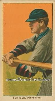 # 281 Lefty Leifield Batting - T206 REPRINT