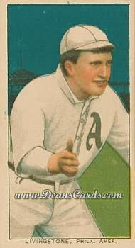 1909 T206 Reprints #288   Paddy Livingston
