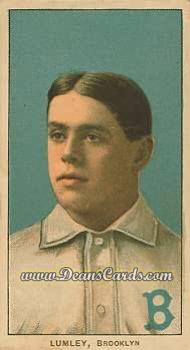 1909 T206 Reprints #291  Harry Lumley