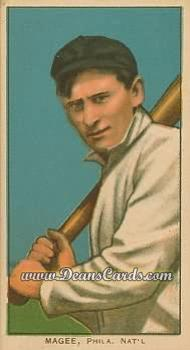 1909 T206 Reprints #296 BAT Sherry Magee