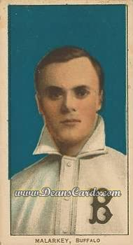 1909 T206 Reprints #298  Bill Malarkey