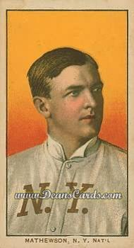 # 308 Christy Mathewson Portrait - T206 REPRINT