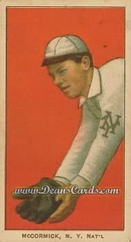 1909 T206 Reprints #314   Moose McCormick