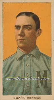 1909 T206 Reprints #316   Dan McGann