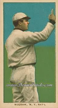 # 320 John McGraw Finger in Air - T206 REPRINT