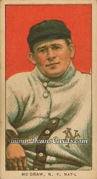 1909 T206 Reprints #323   John McGraw