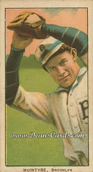 # 324 Harry McIntyre Brooklyn - T206 REPRINT