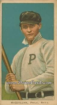 1909 T206 Reprints #329   George McQuillan