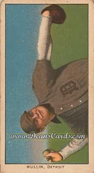 # 351 George Mullin Throwing Horizontal - T206 REPRINT
