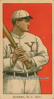 1909 T206 Reprints #354   Red Murray