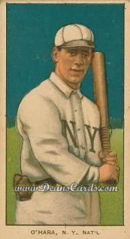1909 T206 #0   Bill O'Hara - Batting