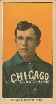# 378 Fred Parent - T206 REPRINT