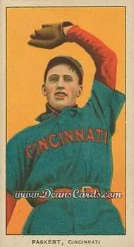 1909 T206 Reprints #379   Dode Paskert