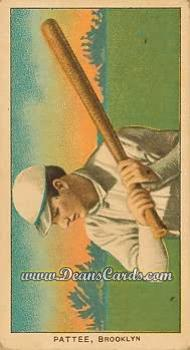 # 381 Harry Pattee - T206 REPRINT