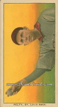 # 383 Barney Pelty Horizontal - T206 REPRINT