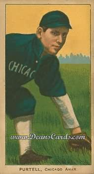 1909 T206 Reprints #399   Billy Purtell