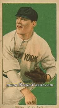1909 T206 Reprints #402   Jack Quinn