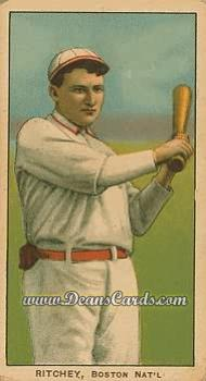 1909 T206 Reprints #412   Claude Ritchey