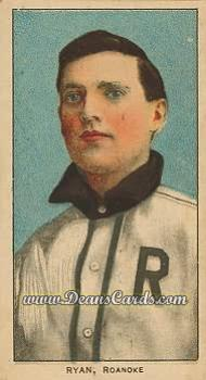 1909 T206 Reprints #419   Ray Ryan