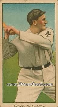 # 424 Admiral Schlei Batting - T206 REPRINT