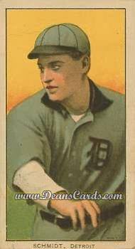 # 428 Boss Schmidt Throwing - T206 REPRINT