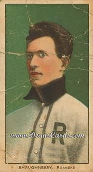 1909 T206 Reprints #440   Frank Shaughnessy