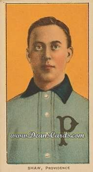 1909 T206 Reprints #442   Hunky Shaw