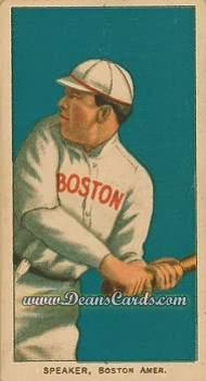 1909 T206 Reprints #458   Tris Speaker